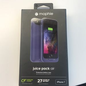 Accessories - Brand New Mophie Charging Case-iPhone 7